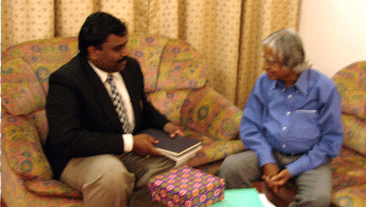 Meeting with Dr. A. P. J Abdul Kalam